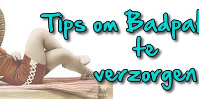 Tips om badpakken te verzorgen