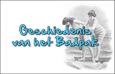 Geschiedenis van de badpakken